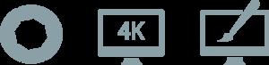 tournage video montage 4K UHD motion design